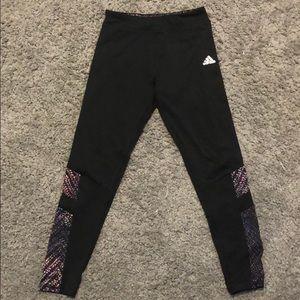 Adidas Climalite girl athletic leggings